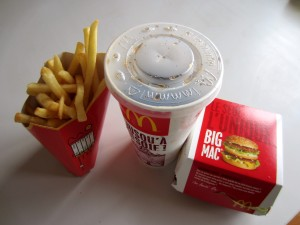 Menu Big Mac