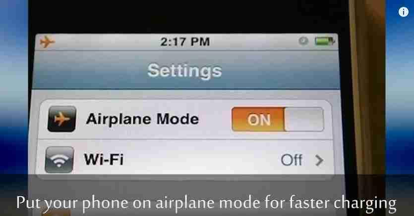 Le Mode Avion Pour Recharger Plus Vite Son Portable Vos Nouvelles