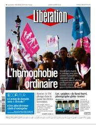 Libération - Manif Homophobie